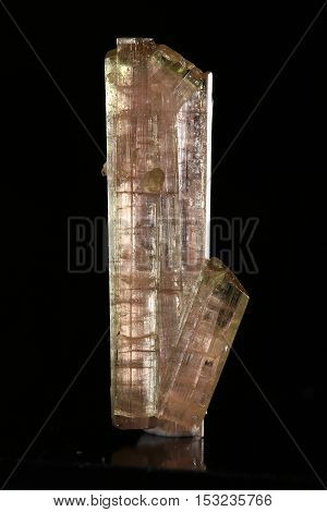 The Tourmaline mineral specimen, the geology beauty