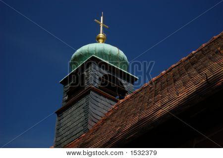 Old German Chapel Steeple