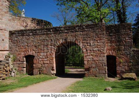 Nanstein Castle Ruins