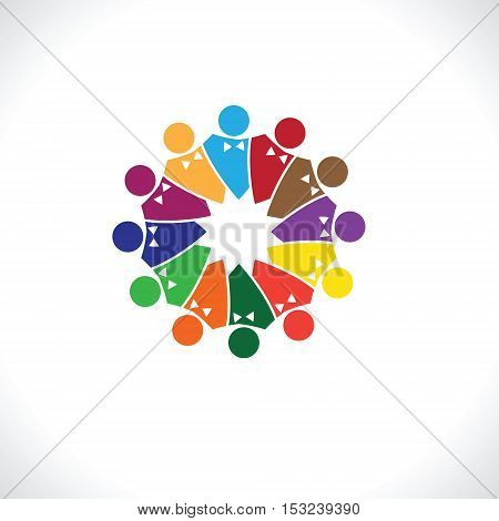 Teamwork Meeting 12 Vector Photo Free Trial Bigstock