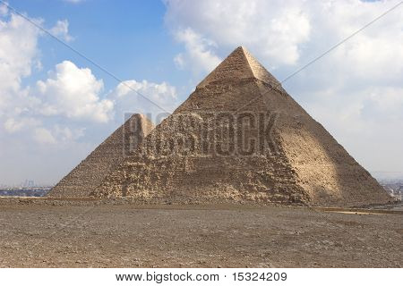 Die Pyramide des Khafrae