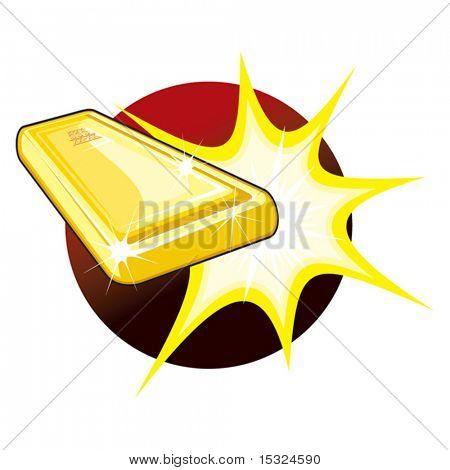 Vector Gold Bar