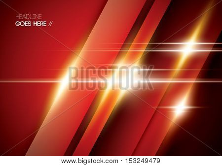 Vector of abstract shinny surface and background