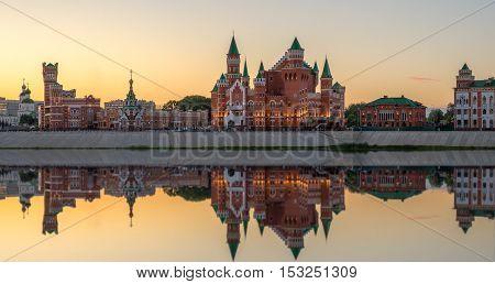 Republican Puppet Theatre. Yoshkar - Ola city, Russia