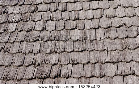 old wooden tiles closeup of texture background