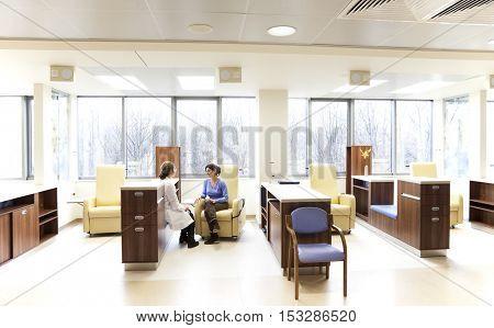 Hospital blood transfusion center