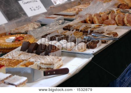 Sweets At Farmers Market