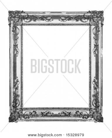 silver vintage ornate frame