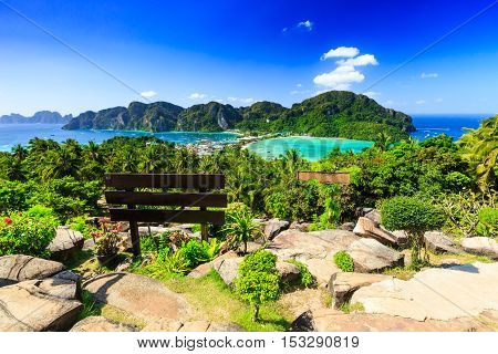 Thailand, Koh Phi Phi islands, Krabi province.