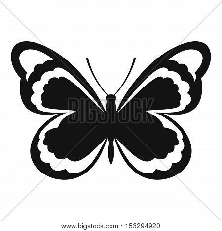 Small butterfly icon. Simple illustration of small butterfly vector icon for web