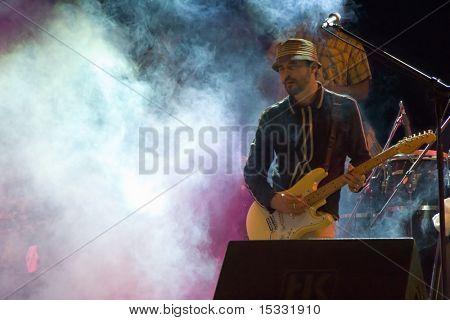 A guitarist from a popular brazilian band