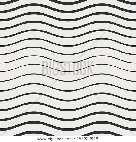 The geometric pattern. Seamless vector background with abstract wave texture