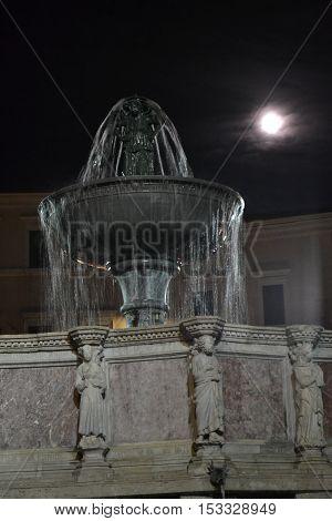 Uno dei monumenti più belli di Perugia