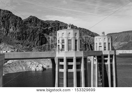 Intakes Of The Hoover Dam