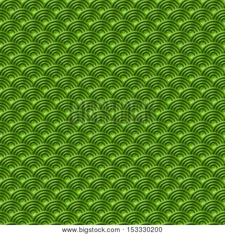 Chinese Green Seamless Pattern Dragon Fish Scales Simple Seamless Pattern Nature Background With Jap