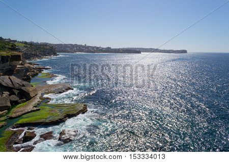 Cliff Landscape In Sydney