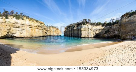 Loch Ard Gorge By The Great Ocean Road (australia)