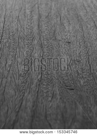 Close up wood surface texture with selective focus.