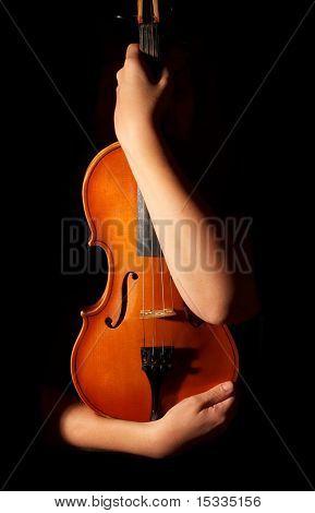 violín antiguo