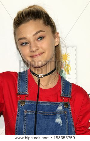LOS ANGELES - OCT 23:  Lizzy Greene at the Elizabeth Glaser Pediatric AIDS Foundation A Time For Heroes Event at Smashbox Studios on October 23, 2016 in Culver City, CA
