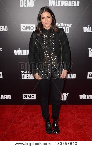 LOS ANGELES - OCT 23:  Alanna Masterson at the AMC's Special Edition of