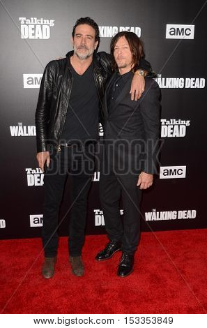 LOS ANGELES - OCT 23:  Jeffrey Dean Morgan, Norman Reedus at the AMC's Special Edition of
