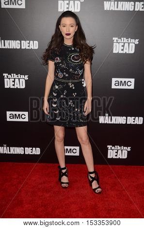 LOS ANGELES - OCT 23:  Christian Serratos at the AMC's Special Edition of