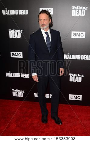 LOS ANGELES - OCT 23:  Andrew Lincoln at the AMC's Special Edition of