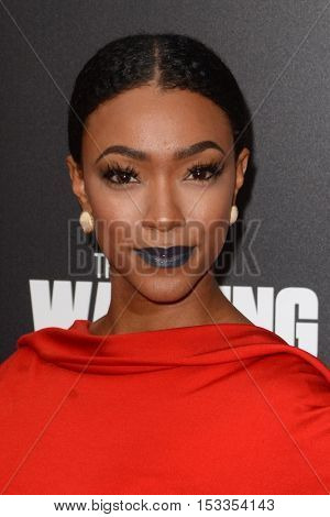 LOS ANGELES - OCT 23:  Sonequa Martin at the AMC's Special Edition of