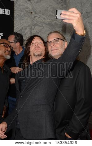 LOS ANGELES - OCT 23:  Norman Reedus, Gregory Nicotero at the AMC's Special Edition of