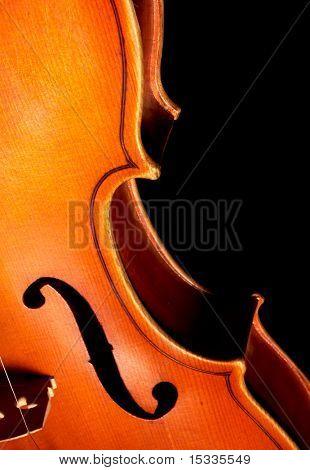 fragmento de violín