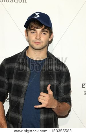 LOS ANGELES - OCT 23:  Jack Griffo at the Elizabeth Glaser Pediatric AIDS Foundation A Time For Heroes Event at Smashbox Studios on October 23, 2016 in Culver City, CA
