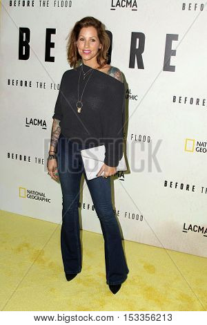 LOS ANGELES - OCT 24:  Pixie Acia at the Screening Of National Geographic Channel's