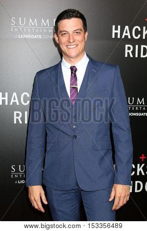 LOS ANGELES - OCT 24:  James Mackay at the