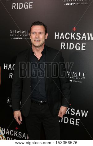 LOS ANGELES - OCT 24:  Jason O'Mara at the