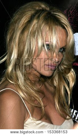 Pamela Anderson at the Rokbar Hollywood Grand Opening Party held at the Rokbar in Hollywood, USA on June 30, 2005.