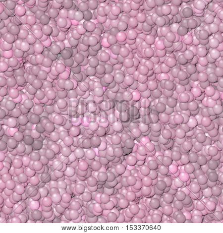 Old pink little balls abstract texture background pattern