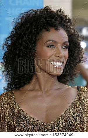 Jada Pinkett Smith at the 2005 BET Awards held at the Kodak Theater in Hollywood, USA on June 28, 2005.