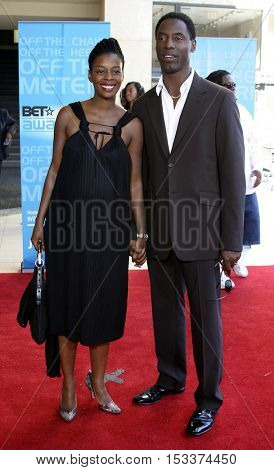 Isaiah Washington at the 2005 BET Awards held at the Kodak Theater in Hollywood, USA on June 28, 2005.