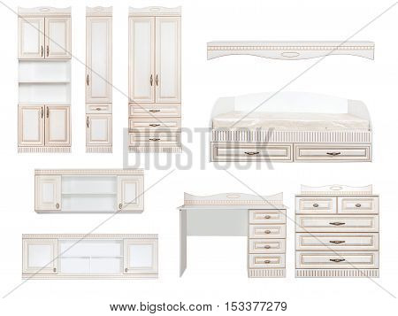 Furniture Set Collage