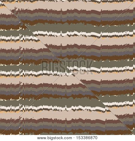 Reverse thrust fault in sedimentary rock periodic vector background