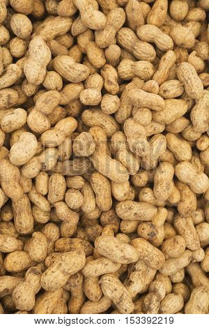 Peanut. Peanuts background. Peanuts seed. Brown peanuts. Peanuts material.