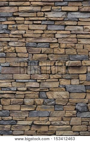 stone wall background and texture close up