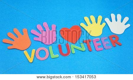 Volunteerism concept