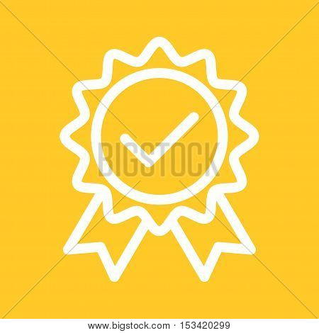 Quality, certified, control icon vector image. Can also be used for software development. Suitable for mobile apps, web apps and print media.