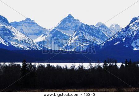 Glacier Park In Winter