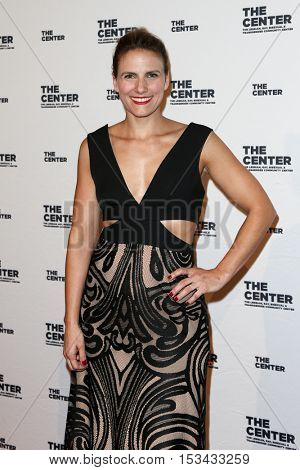 NEW YORK-APR 2: Executive Director of the LGBT community center of New York City Glennda Testone attends attends the 2015 Center Dinner at Cipriani Wall Street on April 2, 2015 in New York City,