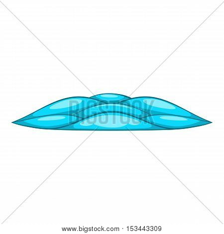 Quiet waves icon. Cartoon illustration of quiet waves vector icon for web