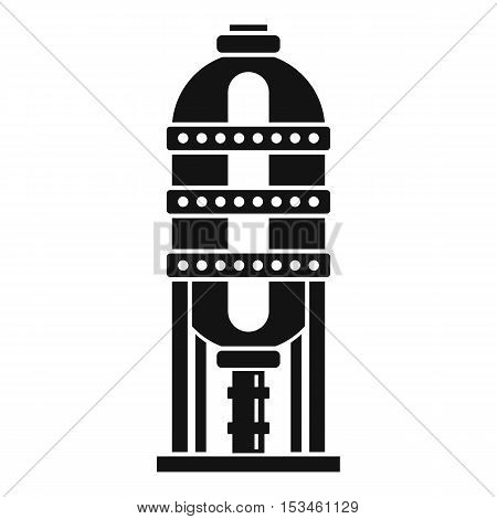 Capacity for oil storage icon. Simple illustration of capacity for oil storage vector icon for web