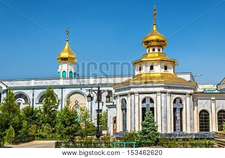 Dormition Cathedral of Russian Orthodox Church in Tashkent, Uzbekistan